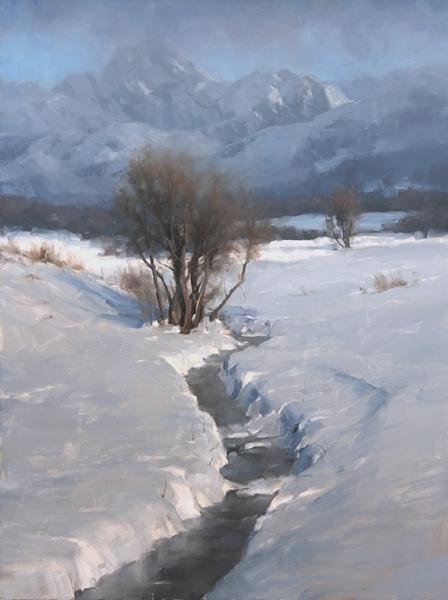 after_a_fresh_snow_32x24