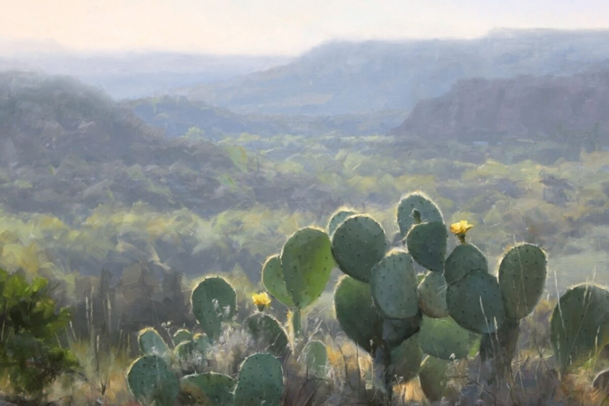 5-Day Studio Landscape Workshop • Scottsdale Artist School • Scottsdale, Arizona • May 3rd – 7th