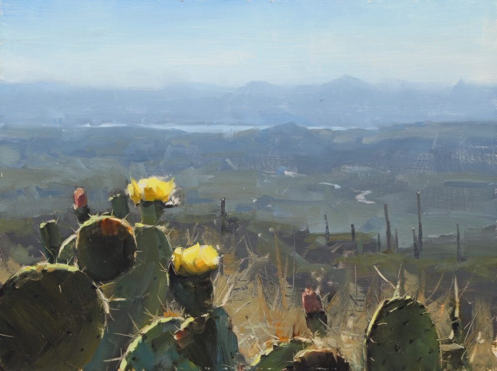 5-Day Plein Air to Studio Landscape Workshop • Scottsdale Artist School • Scottsdale, Arizona • March 28th – April 1st, 2022
