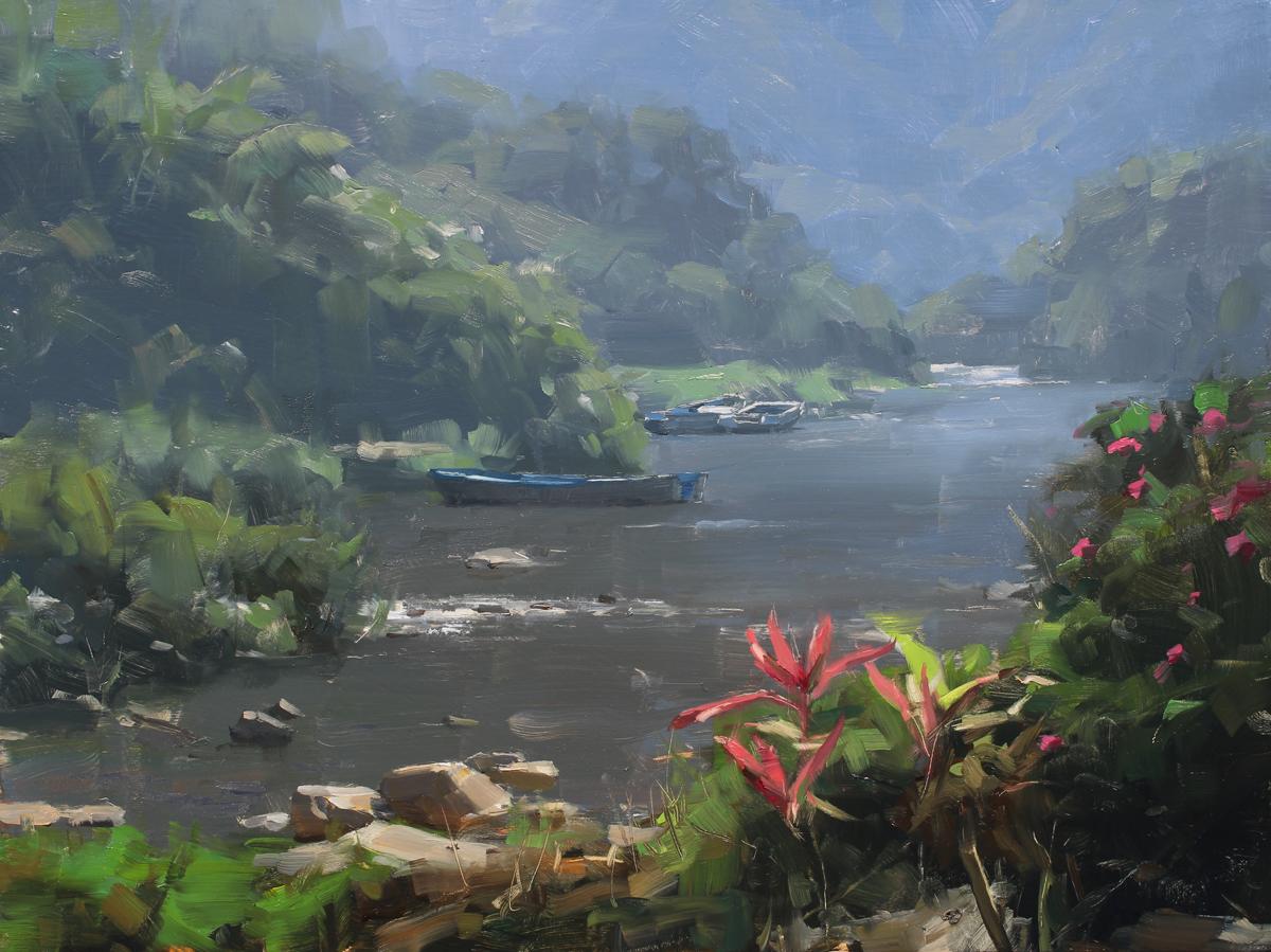 Paint with me in Mexico! • Plein Air to Studio Landscape Workshop • Casa de los Artistas • Boca de Tomatlán, Jalisco, Mexico • March 5th – March 16th, 2022