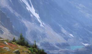 Sky Pond, oil, 24x40