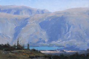 Sundance, oil, 16x24