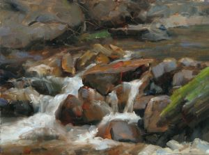 Fall River Movement | 9x12 inches| Oil | Rocky Mountain National Park, CO