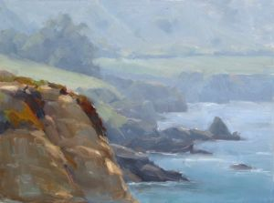 Rocky Point | 9x12 inches| Oil | Carmel Plein Air | Carmel, CA