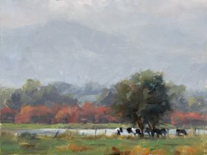 The Meeting Place | 9x12 | Teller Farms, Boulder, CO