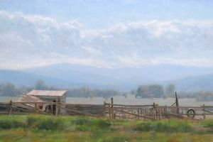 Arapahoe Bend | 20x30 | Oil | Fort Collins, Colorado