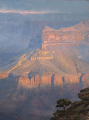 Daybreak at Cedar Ridge :: 32x24 :: Grand Canyon NP, AZ :: $6200