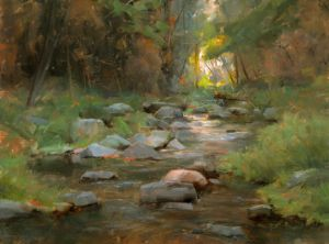 Oak Creek Passage | 12x16 | Oil | Oak Creek, Sedona, Arizona